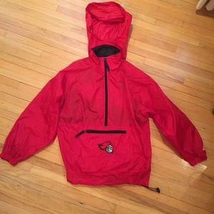 Adidas Rutgers windbreaker youth 10/12